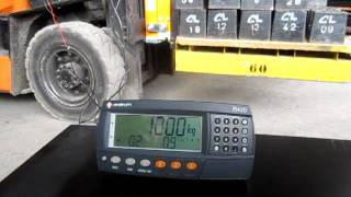 SEKO Forklift Scale load tilt compensated weighing